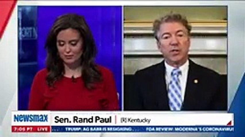 Rand Paul rips apart Joe Biden's divisive speech