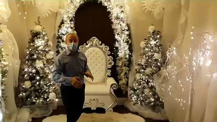 Riverside Hub's impressive Santa's grotto for children in hospital during the festive period