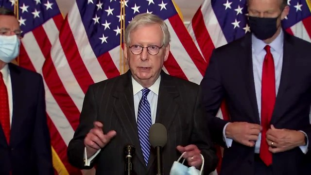 'Not leaving here without a COVID package,' Mitch McConnell says