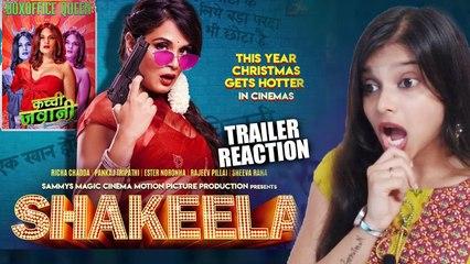 Shakeela Trailer Reaction |_Richa Chadha, Pankaj Tripathi
