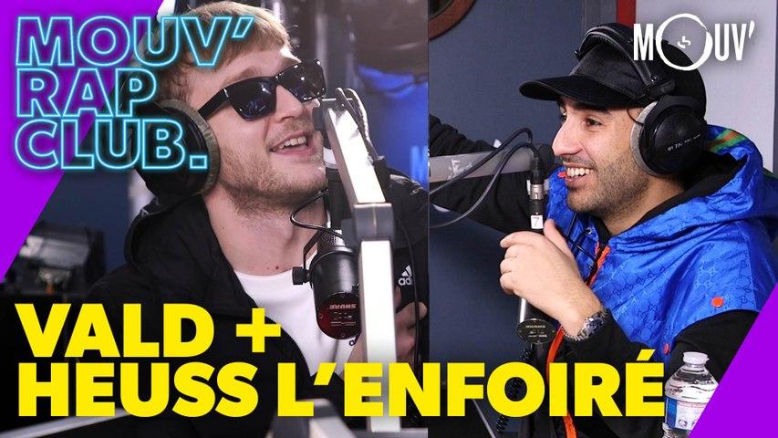 """VALD & HEUSS L'ENFOIRÉ : """"L'univers attendait qu'on fasse cet album en commun"""""""