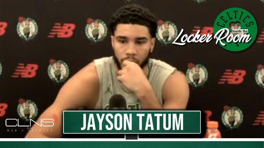 Jayson Tatum on leading Celtics vs 76ers