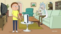 Rick and Morty x PlayStation 5 Console