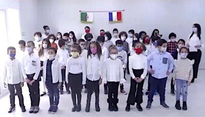 Chorale à l'école française d'Annaba pour la JMLA 2020
