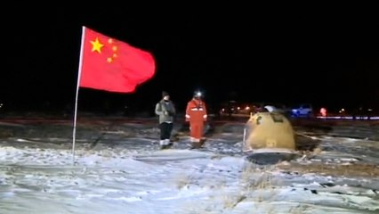 China's Chang'e 5 lunar mission returns to Earth with moon samples
