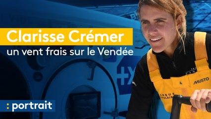 Clarisse Crémer : un vent frais sur le Vendée