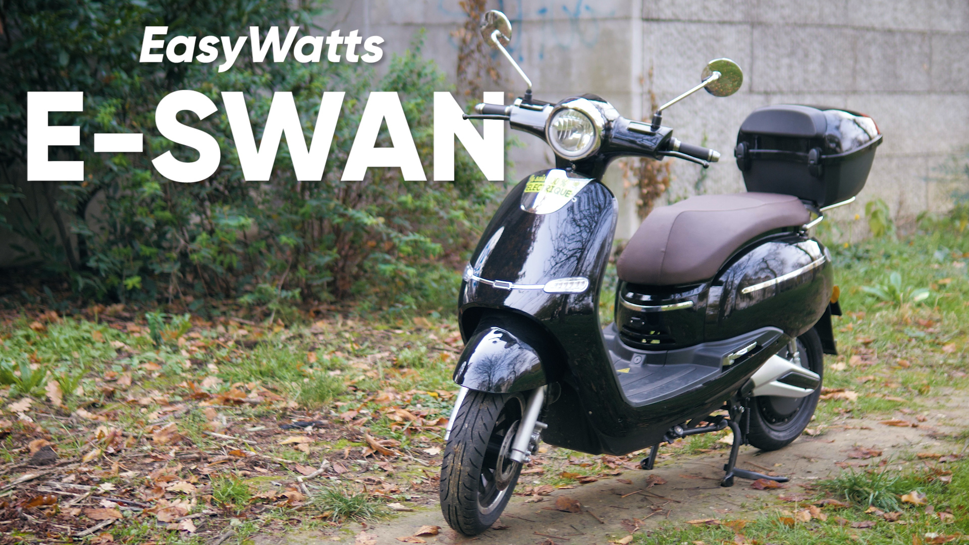 Test du e-swan : le bon scooter électrique pour débutants