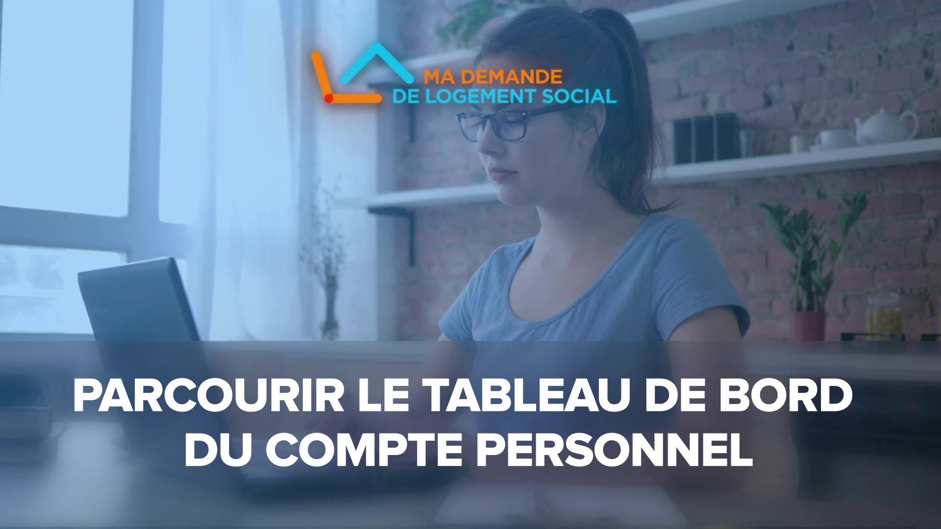 Dailymotion Video: 4-  Gérer les demandes de logement social sur le tableau de bord du site  www.demande-logement-social.gouv.fr »