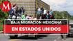 Se corrobora una baja en migración mexicana en Estados Unidos