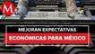 Especialistas del sector privado mejoran expectativas económicas para México