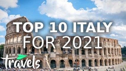 Top 10 Italian Destinations in 2021