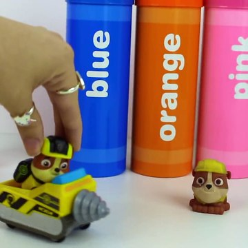 PAW PATROL MISSION PAW CRAYONS TOYS SURPRISES