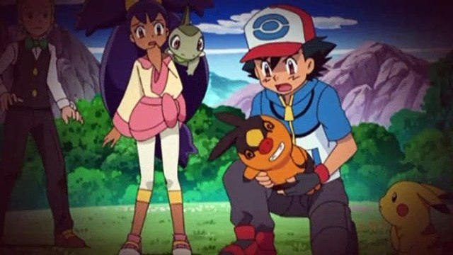 Pokemon S14E37 Dangoro! Fire The Flash Cannon!!