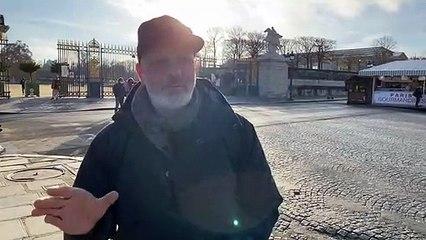 Schwer bewaffnete Polizei & Militär in Paris - 18. Dezember 2020