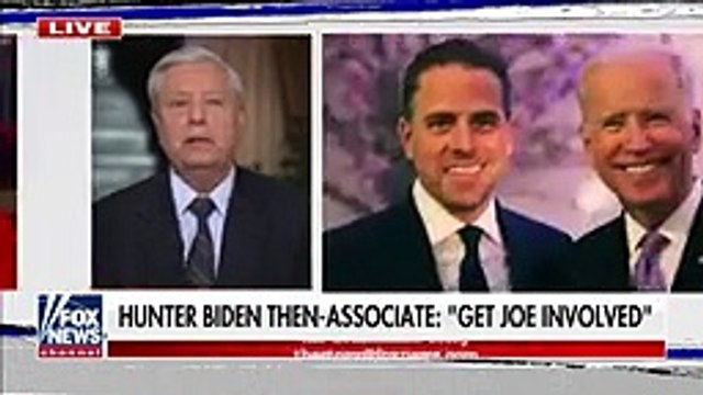 Lindsey Graham reacts to 'damning' new revelations in Hunter Biden probe