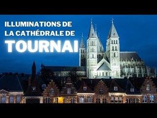 Illumination de la cathédrale de Tournai