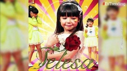 'Telesa': así luce a sus 15 años la niña que interpretó el personaje de Angelique Boyer