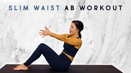 12 Min Belly Fat Blast with Eliz _ Abs & Obliques Workout to Slim Your Waist, At Home Fitness, Core