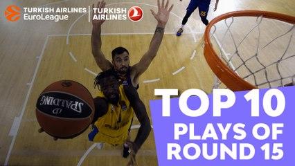 Regular Season Round 15: Top 10 plays