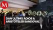 Familiares despiden a ex gobernador Aristoteles Sandoval