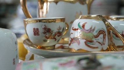 Hong Kong's first and last hand-painted porcelain factory