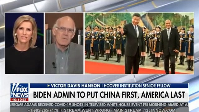 NWO: BIDEN ADMIN TO PUT CHINA FIRST, AMERICA LAST Victor Davis Hansen, Hoover Inst, also DEMS SUDDENLY AVERSE TO SPECIAL COUNSELS Rep Jim Jordan and Mollie Hemingway, The Federalist - The Ingraham Angle Fox News Dec18