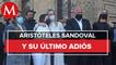 Homenaje a Aristóteles Sandoval, su último adiós