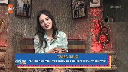 Maria İle Mustafa'nın güzel oyuncusu Tuğba Tutuğ Dizi Tv için çömlek yaptı...