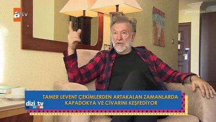 Maria İle Mustafa'nın usta oyuncusu Tamer Levent ile röportaj!