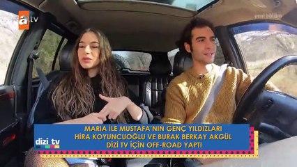 Hira Koyuncuoğlu ve Burak Berkay Akgül'ün off-road deneyimi...