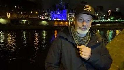 News aus Paris! Polizei löst Demo friedlich aufNews aus Paris! Polizei löst Demo friedlich auf