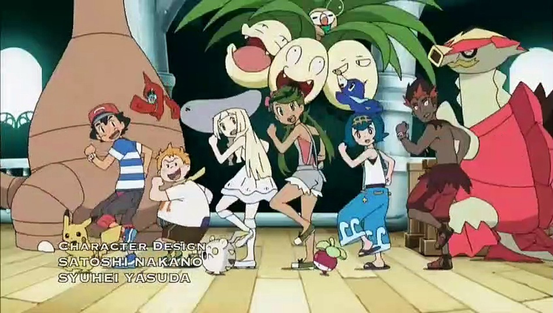 Pokemon sun and moon ep 17 English dubbed - Dailymotion Video