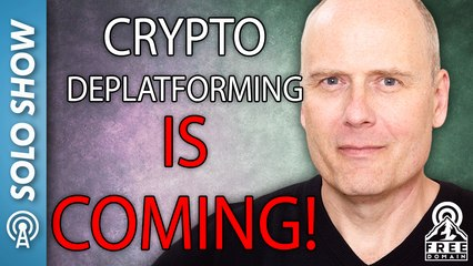 CRYPTO DEPLATFORMING IS COMING!