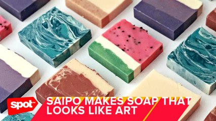 Local Brand Saipo Makes IG-Worthy Soaps That Look Like Art