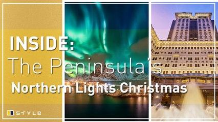 Review: Peninsula Hong Kong's Northern lights Christmas