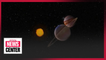 Jupiter and Saturn form closest visible alignment in 800 years