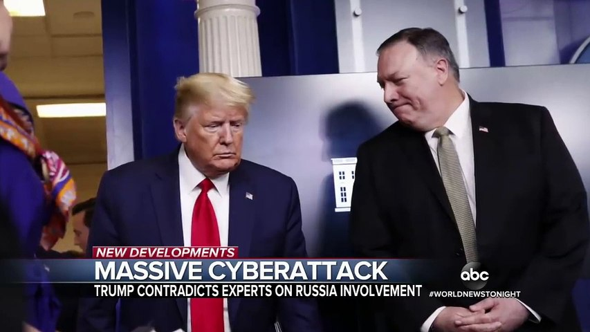 Secretary of State Mike Pompeo says Russia clearly behind cyber attack
