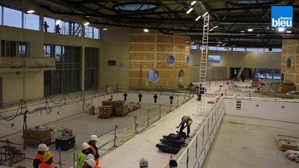 Dernière phase de travaux pour le centre aquatique Balsan'éo de Châteauroux