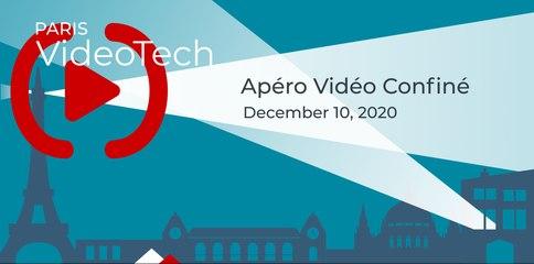 Paris Video Tech #13: Apéro Vidéo Confiné