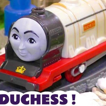 New Duchess Toy Train from Thomas and Friends with a Funny Funlings Prank in this Family Friendly Full Episode English Toy Story for Kids from Kid Friendly Family Channel Toy Trains 4U