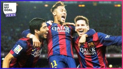 Lionel Messi dévoile le contenu de sa conversation WhatsApp avec Neymar et Luis Suárez   Oh My Goal