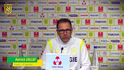 Patrick Collot avant OL - FC Nantes