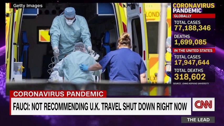 New coronavirus variant linked to surge in United Kingdom