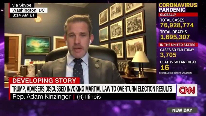 'Massive red line'- GOP lawmaker reacts to Flynn's martial law pitch