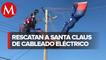 Rescatan a Santa Claus en Estados Unidos