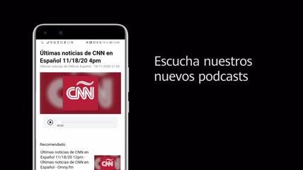 Disfruta las nuevas funciones de Podcast y Video en Huawei Newsfeed