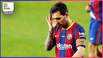Lionel Messi révèle pourquoi il n'est pas au top cette saison   Oh My Goal