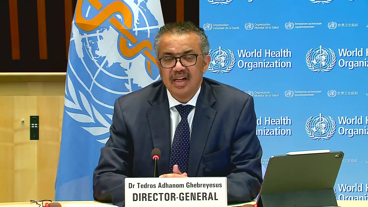 World Health Organization Holds a Briefing on the Coronavirus _ LIVE _ NowThis