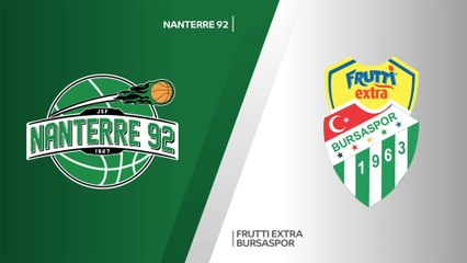 7Days EuroCup Highlights Regular Season, Round 5: Nanterre 90-91 Bursaspor