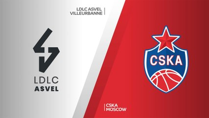 EuroLeague 2020-21 Highlights Regular Season Round 16 video: ASVEL 78-87 CSKA